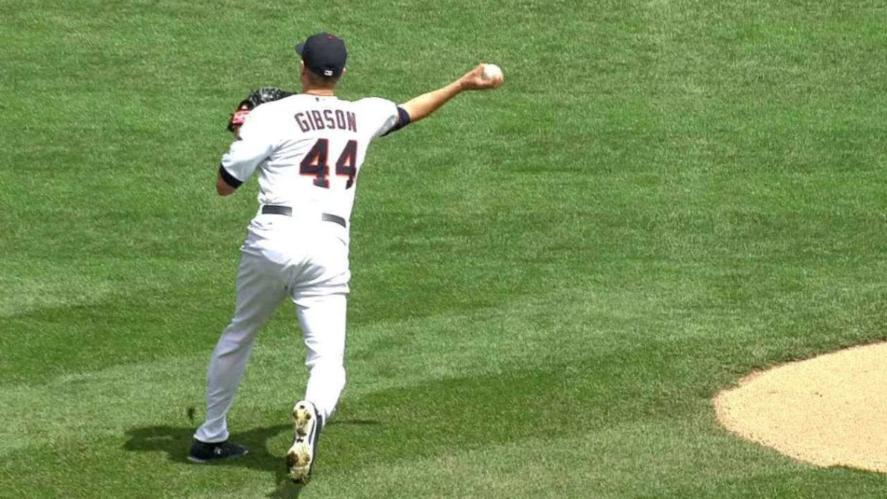 Gibson can't go deep as bullpen implodes