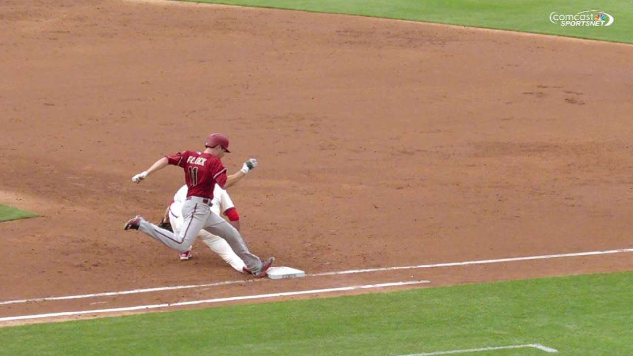 Phillies' inning-ending play