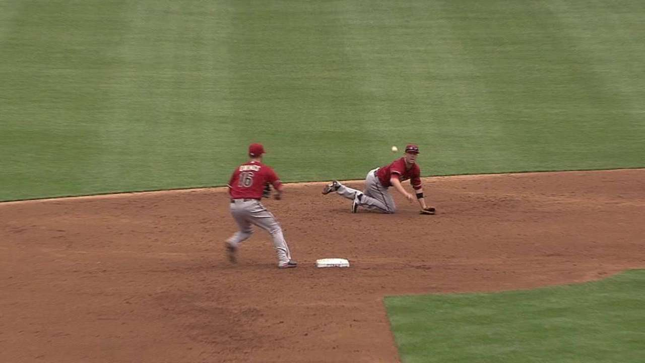 D-backs just a few plays from a turnaround