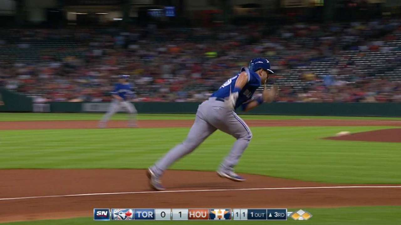 Timely hits missing for Blue Jays in Houston