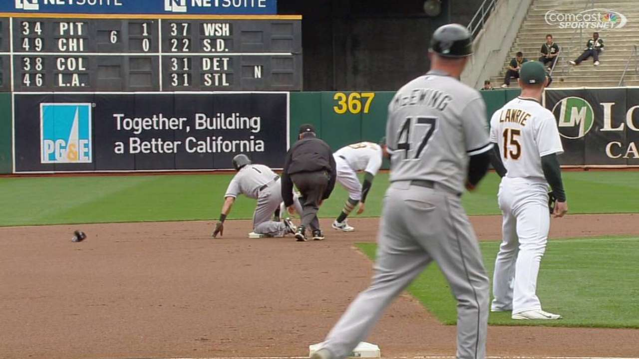 Coleman looks to Eaton for spark on basepaths
