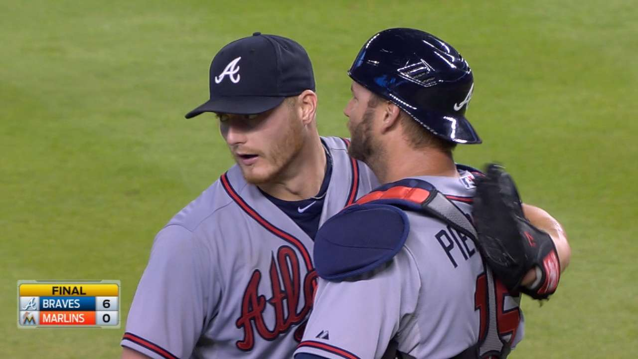 Miller one out shy of no-hitter