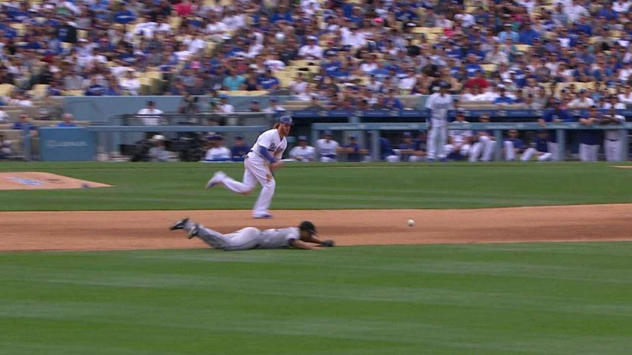Bolsinger, Dodgers triunfan en duelo ante Rockies