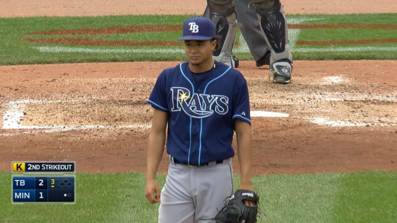Archer's solid outing