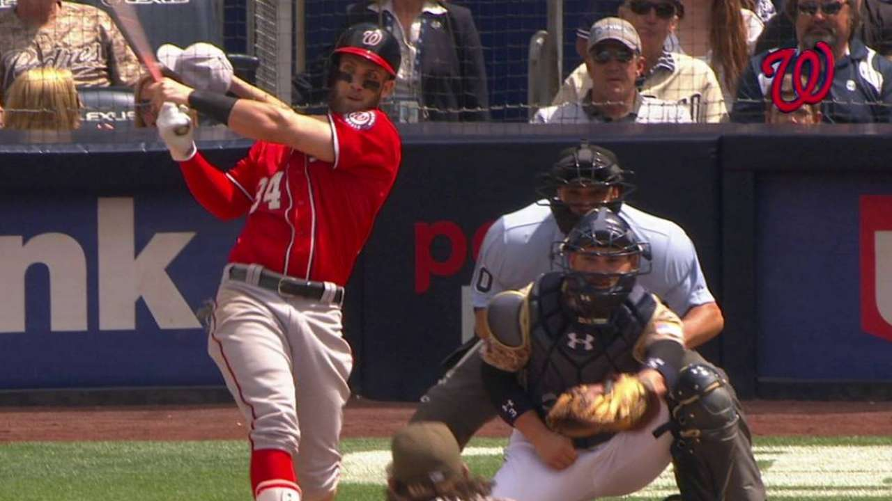 Harper's 5th-inning triple