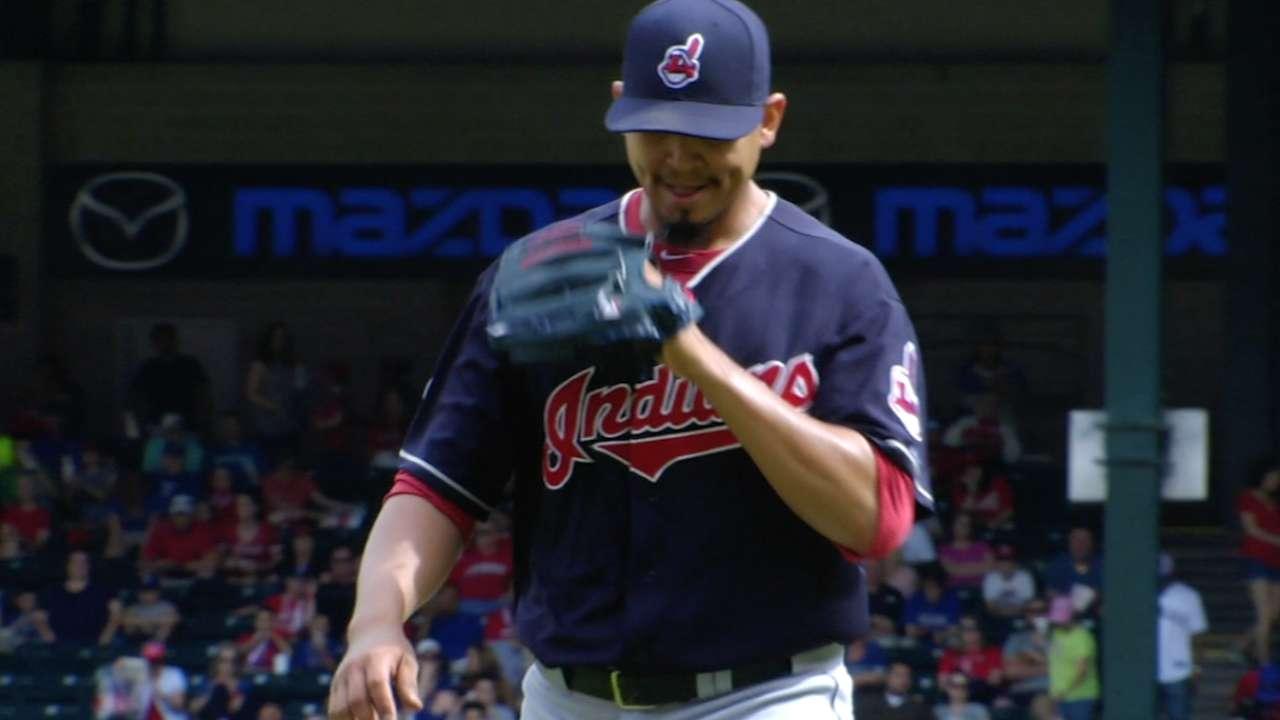 Carrasco's nine strikeouts