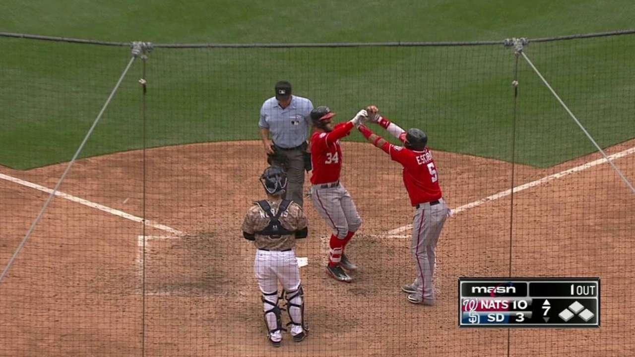 Harper's three-run shot