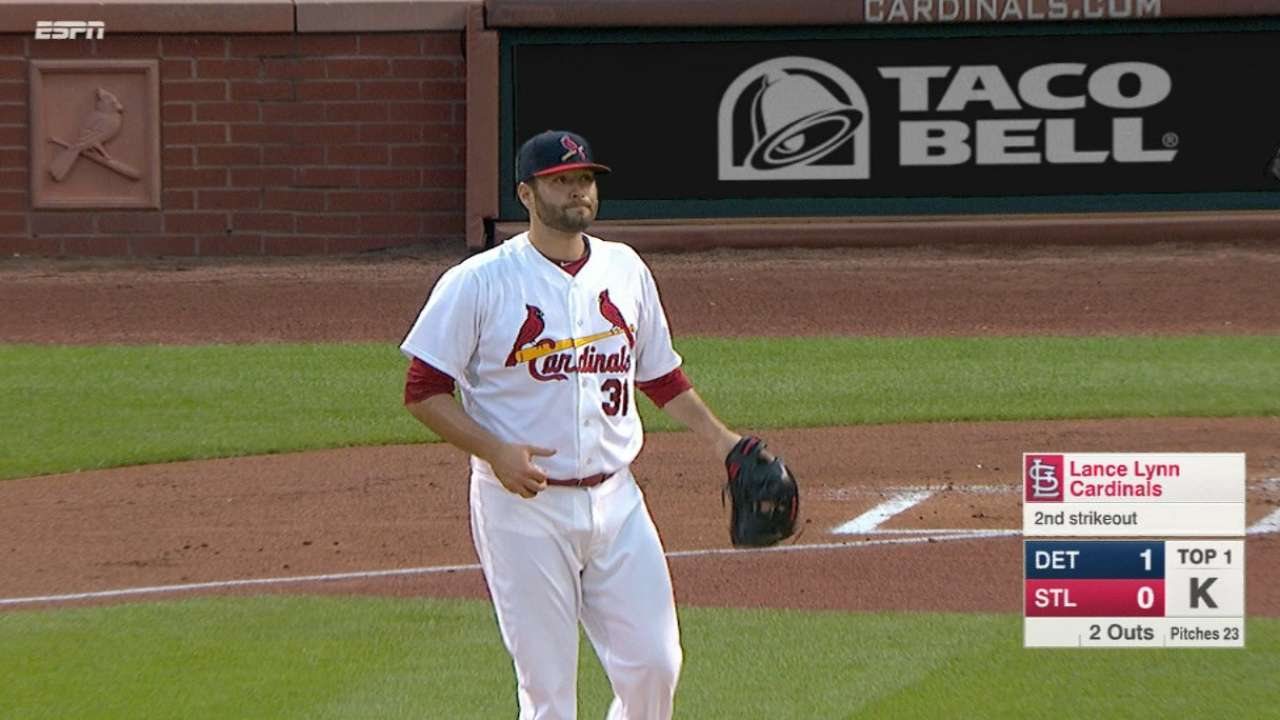 Lynn gives Cards innings they sorely needed