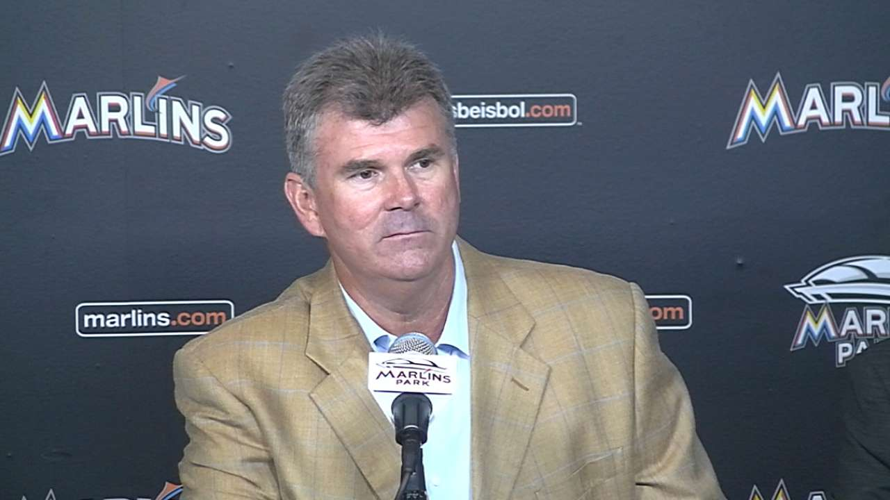 Jennings named manager by Marlins
