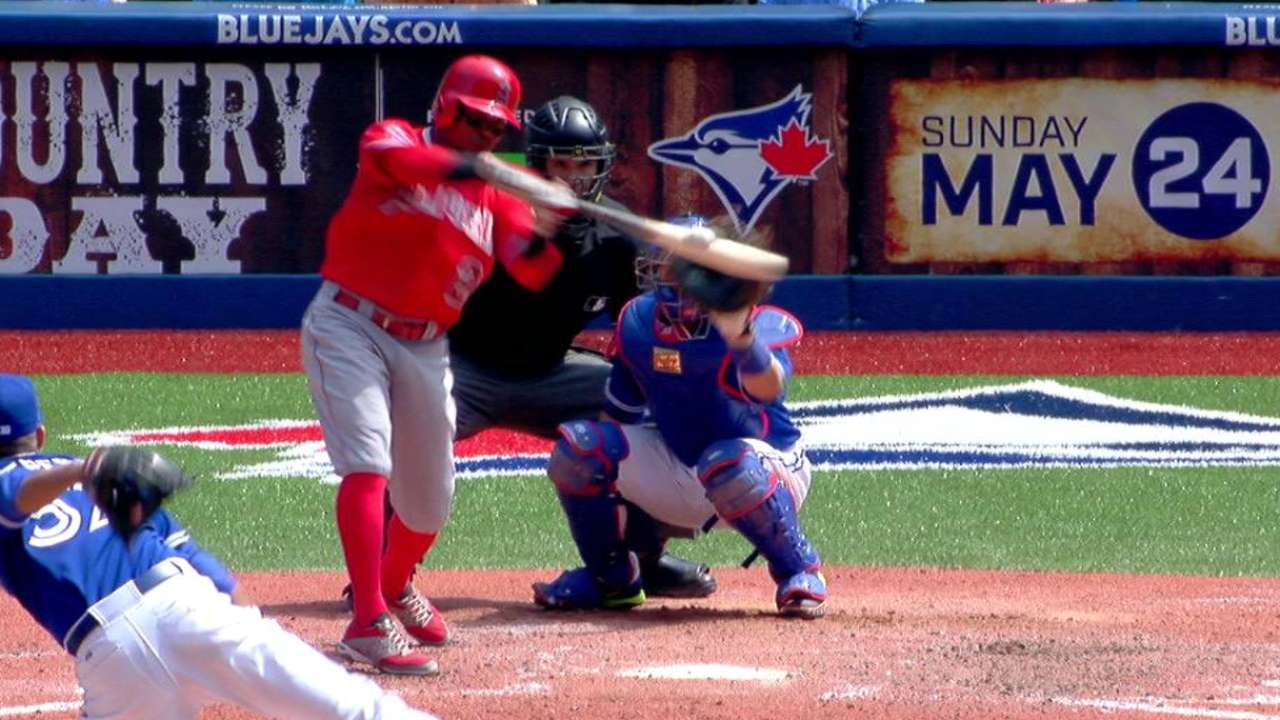 Leadoff role won't change Aybar's aggressive approach