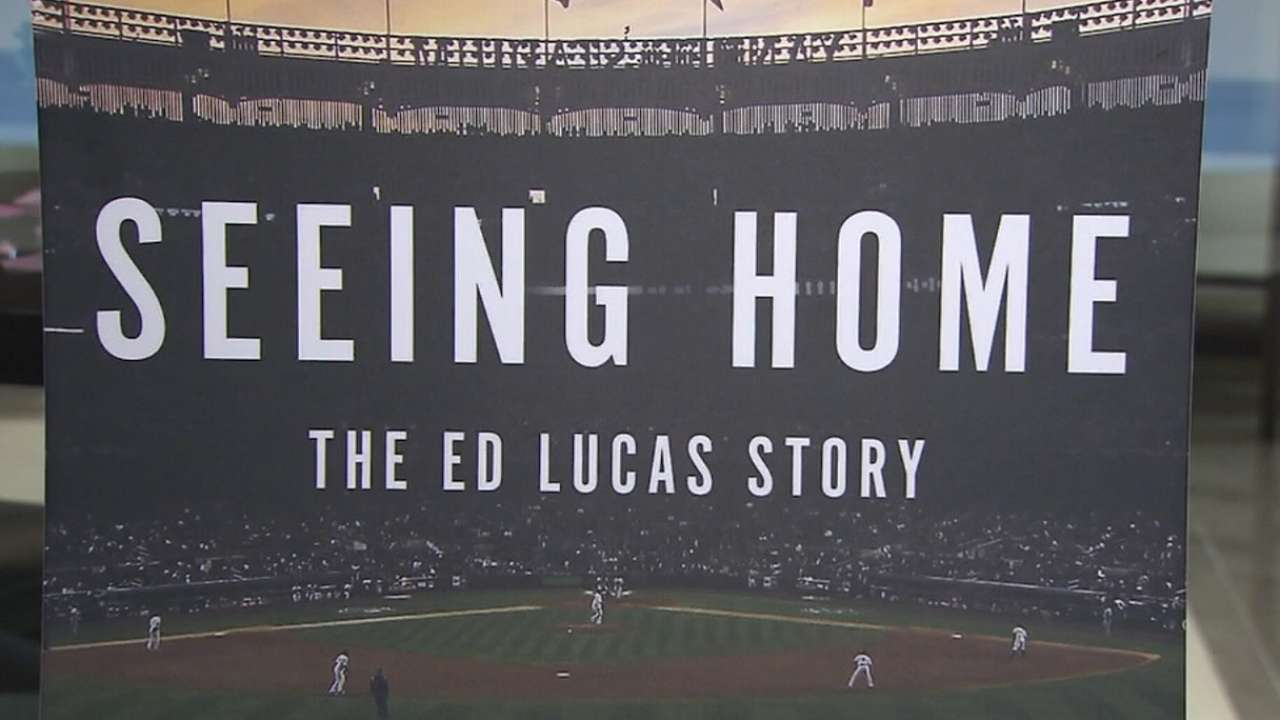 Lucas inspires with 'Seeing Home' book tour