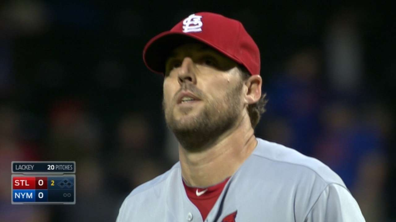 Lackey's strong start