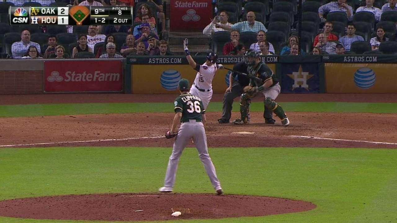 A's bullpen steps up in tough spot vs. Astros