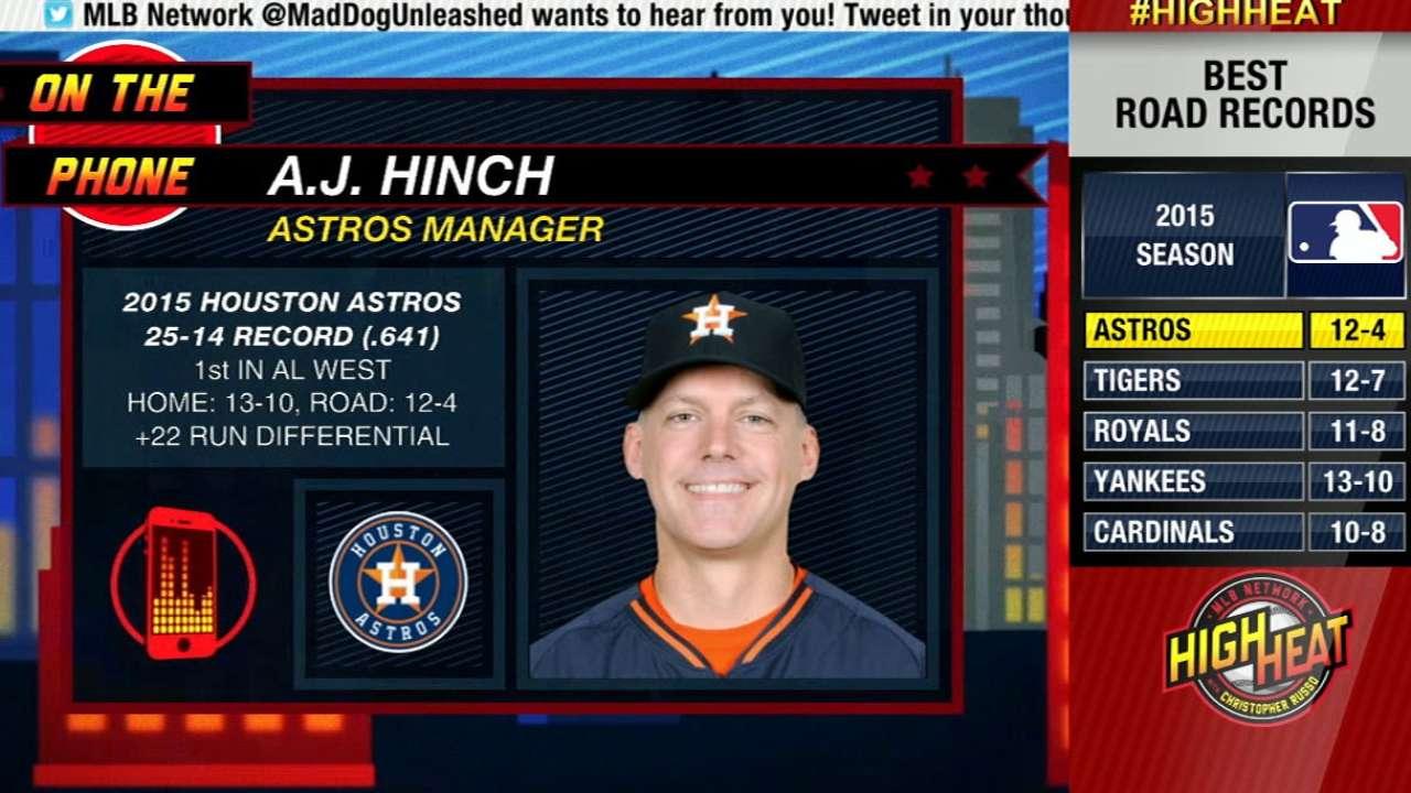 High Heat: A.J. Hinch