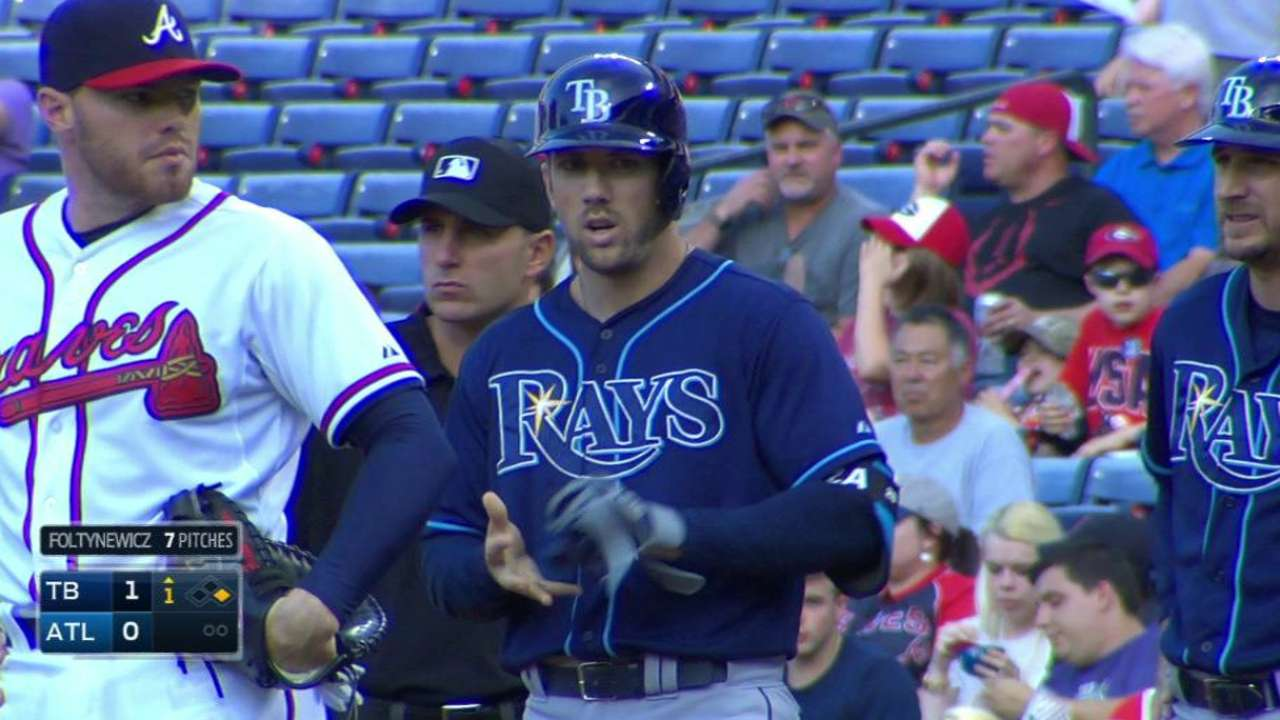 Souza Jr. puts Rays in front