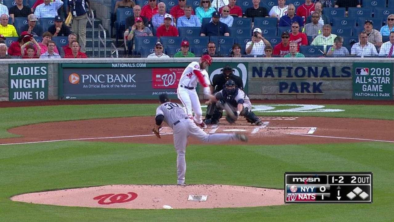 Harper's solo homer