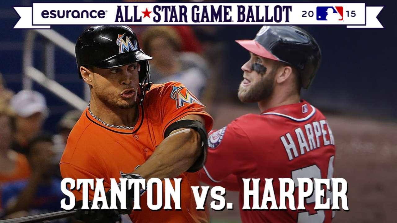 ASG debate: Stanton or Harper in outfield?