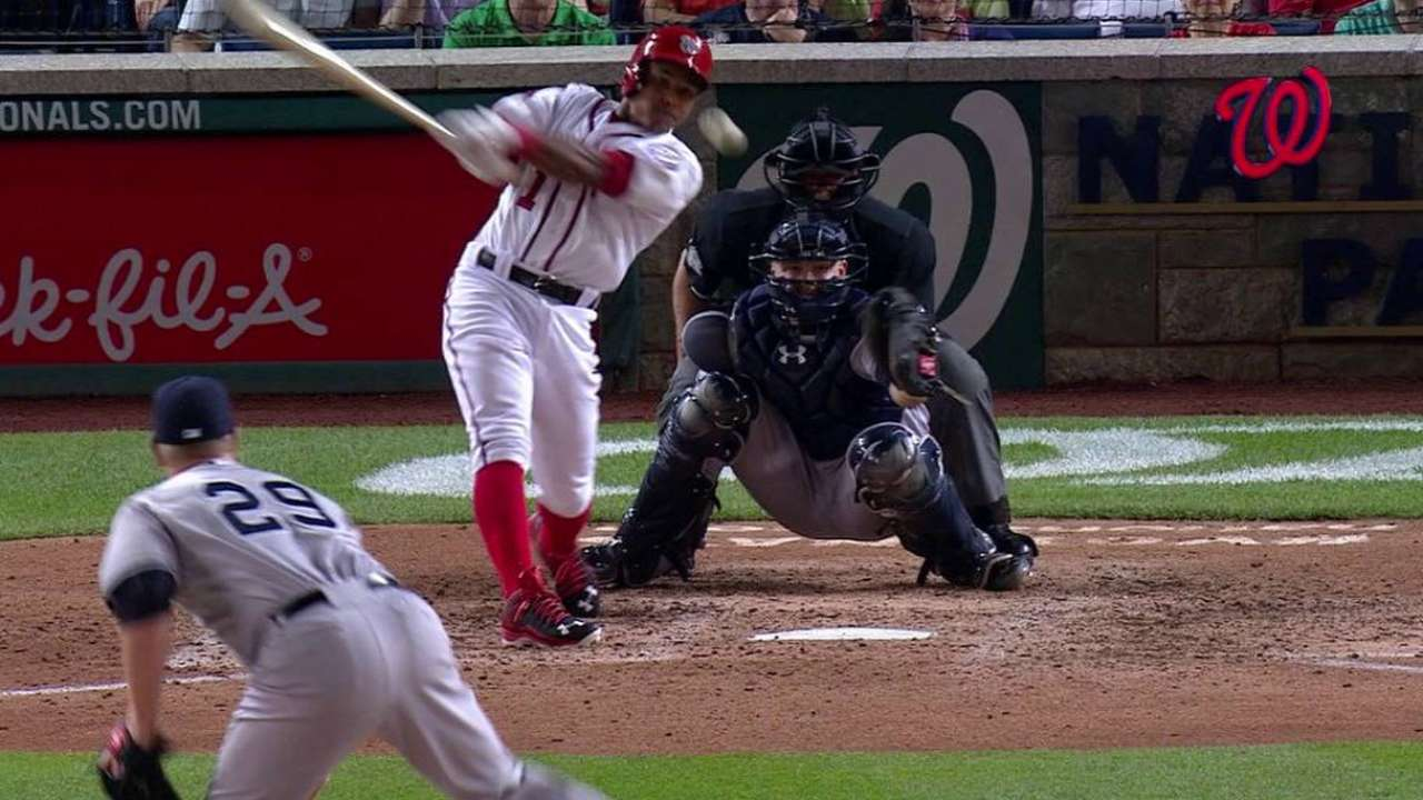 Difo's first career hit