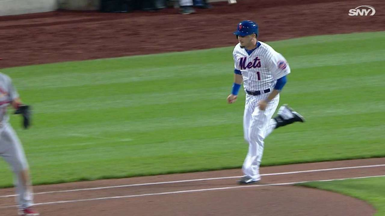 Ceciliani's first career hit