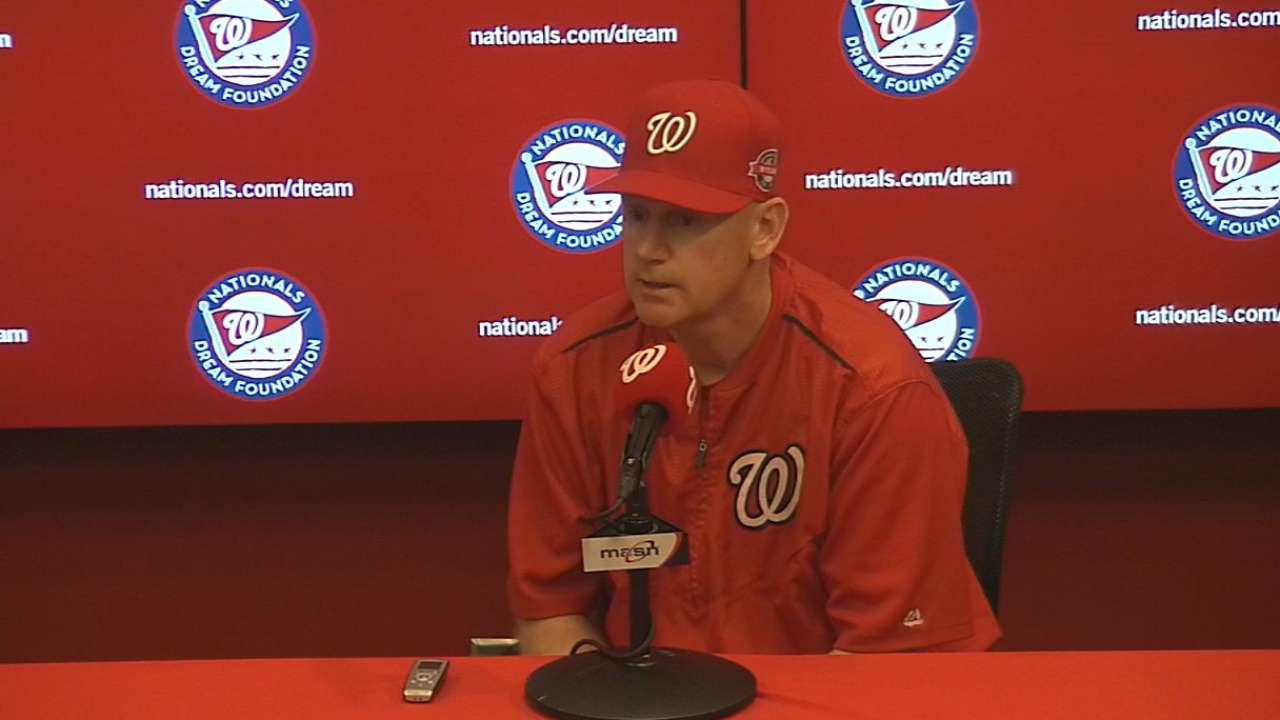 Steady climb gives Nats share of 1st place