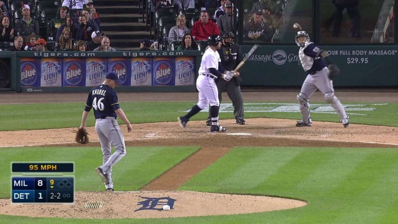 Knebel gets Collins swinging