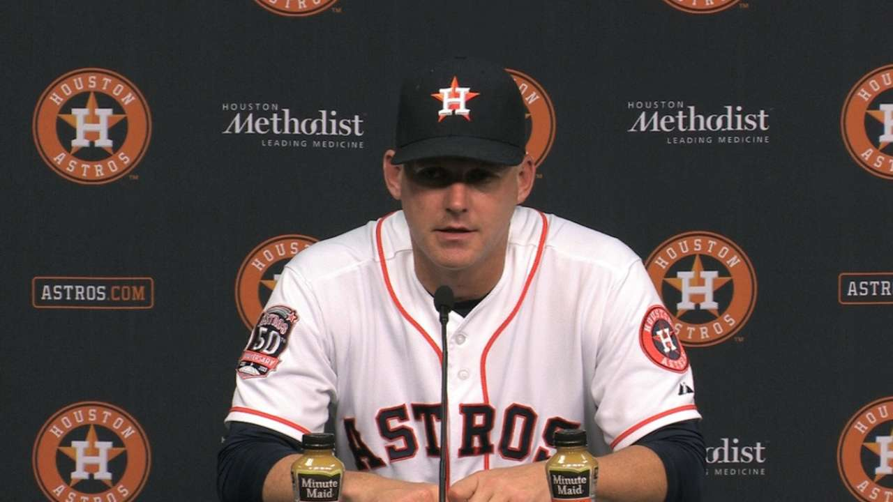 Hinch on win, bullpen usage