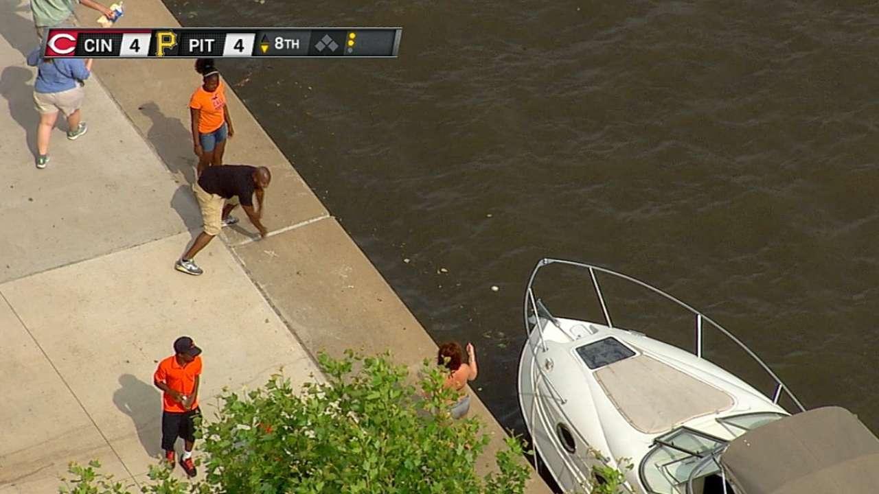 Few homers reach Allegheny River