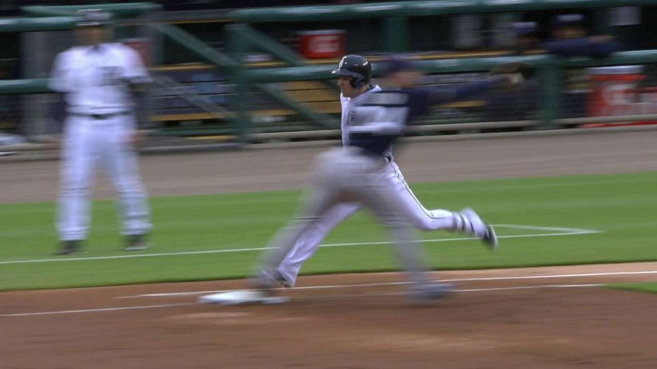 Brewers challenge, Iglesias out