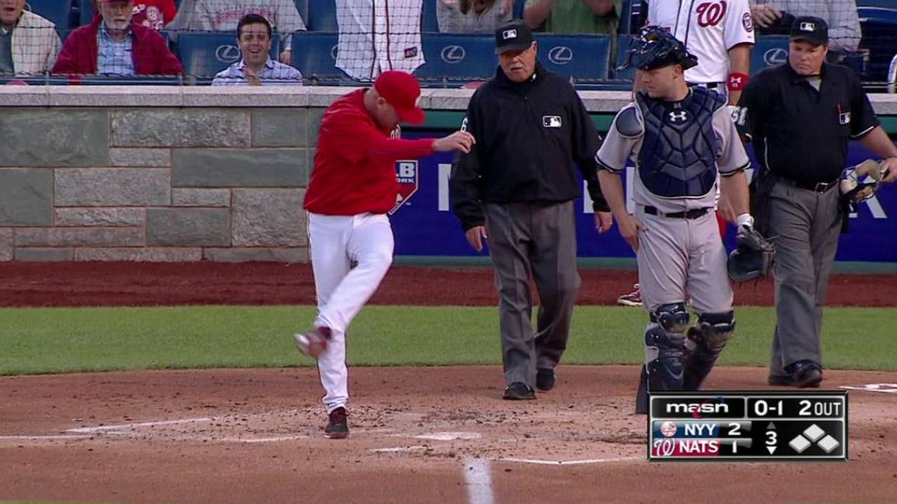 Umpire Marvin Hudson takes heat from analysts for Bryce Harper …