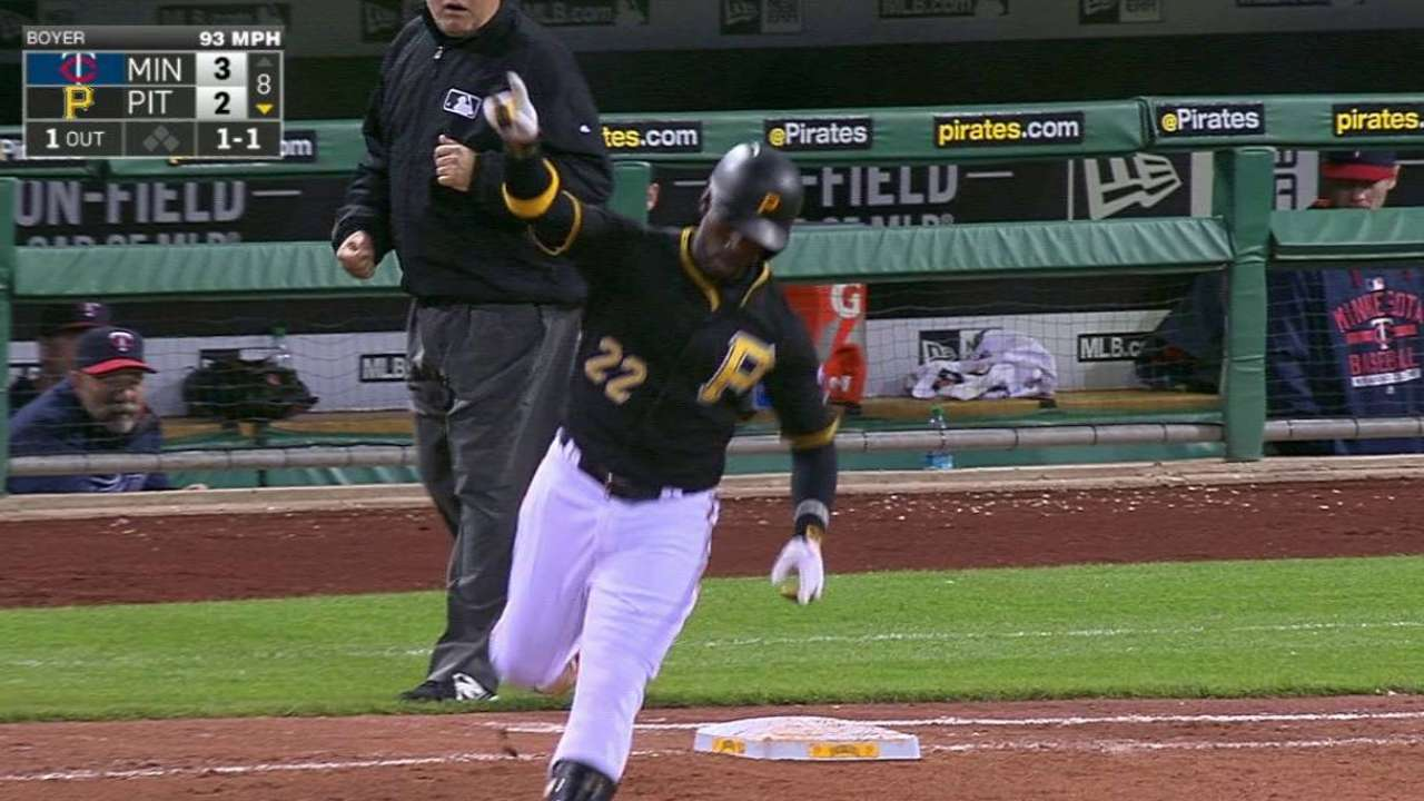 Cutch's game-tying homer