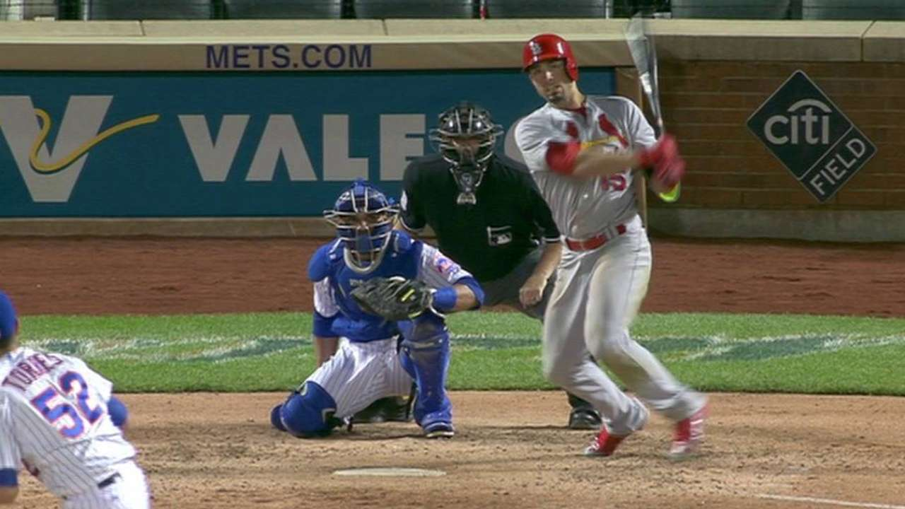 Grichuk's triple to center