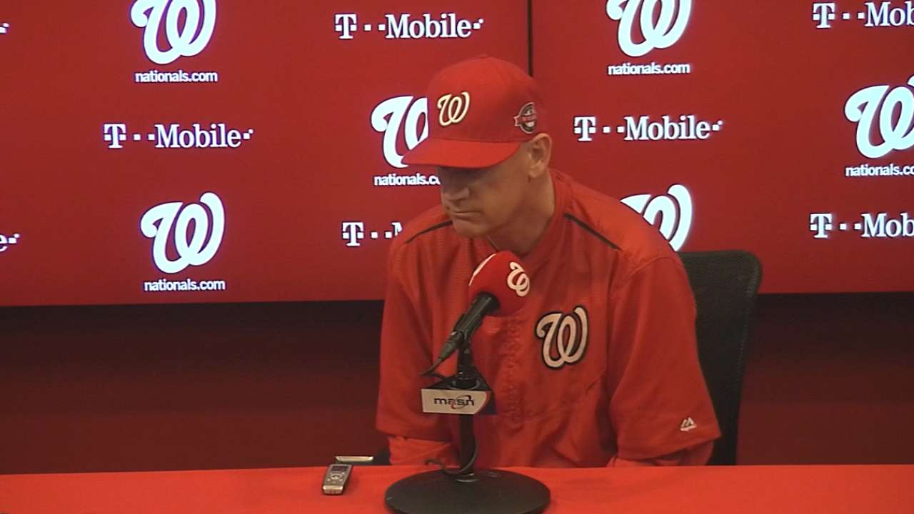 Williams on Harper's ejection