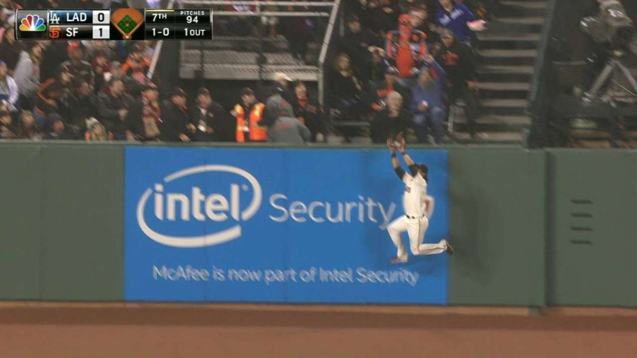 Pagan's terrific catch