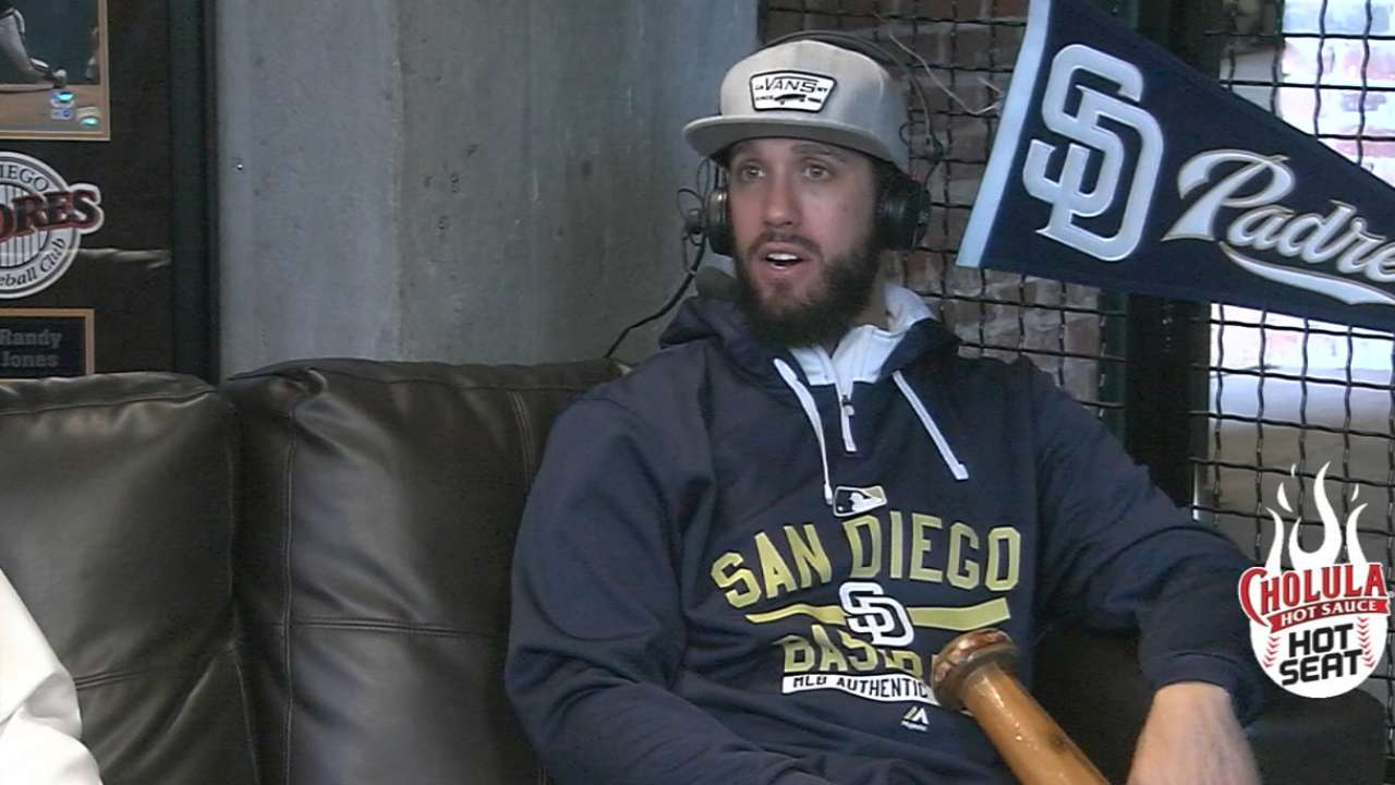 James Shields on his main focus and an oversized bat