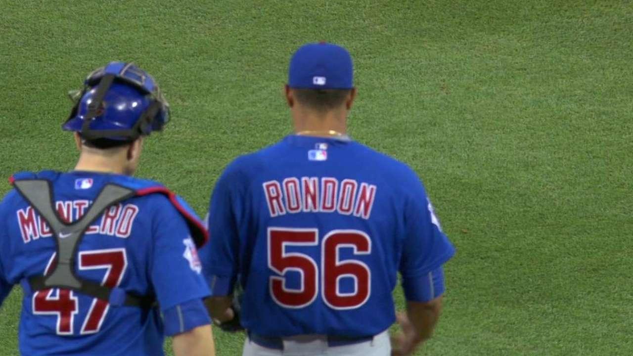 Rondon nails down the save
