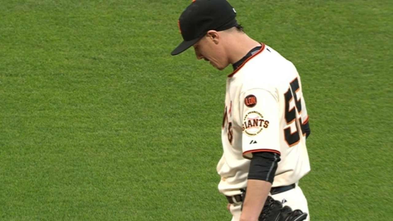Lincecum's scoreless outing