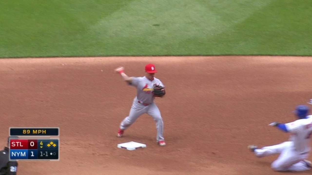 Garcia induces double play
