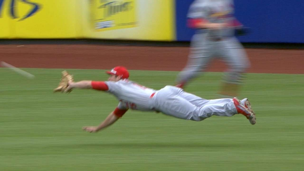 Must C: Grichuk lays out