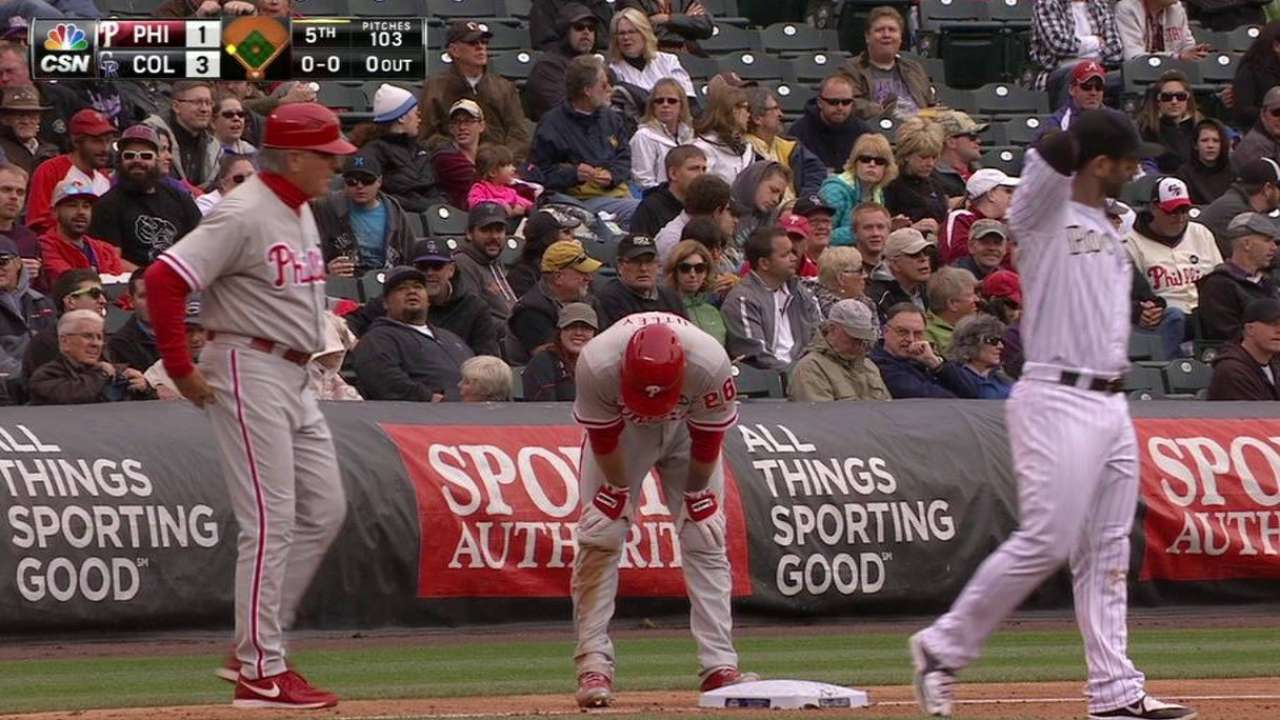 Howard, Utley driving Phillies' offense again