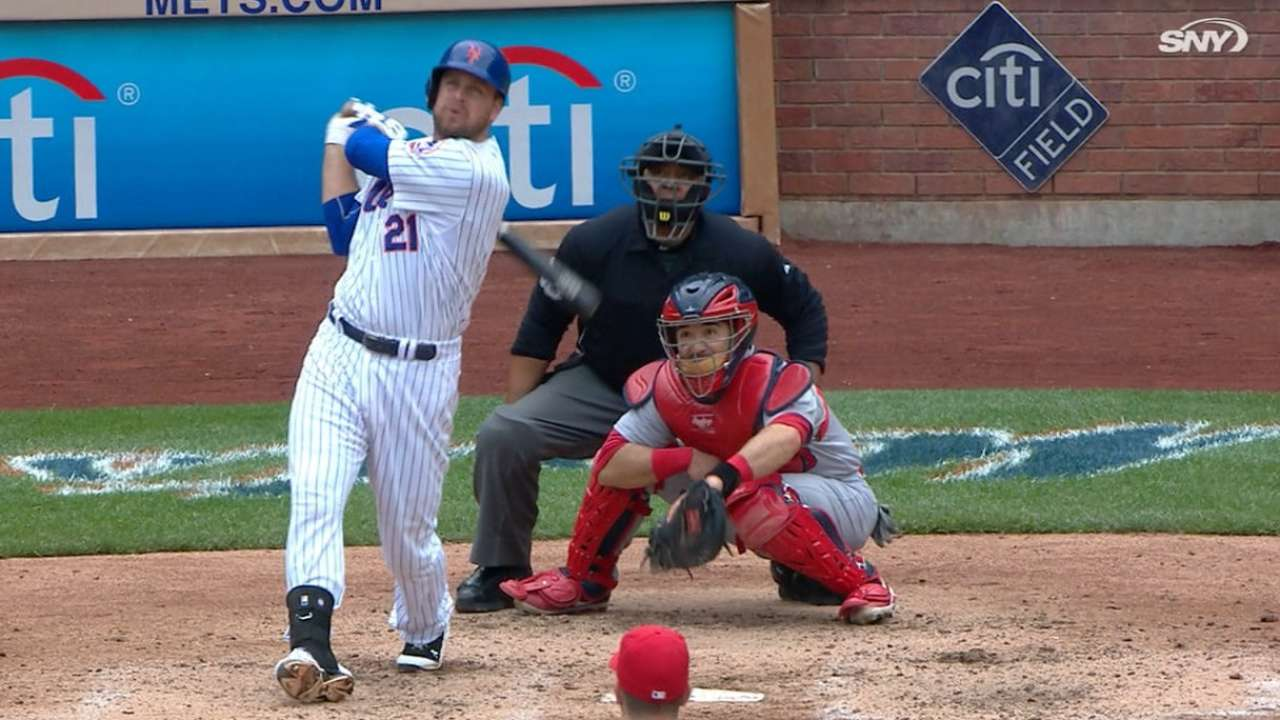Duda's turnaround vs. lefties continues with 2 homers