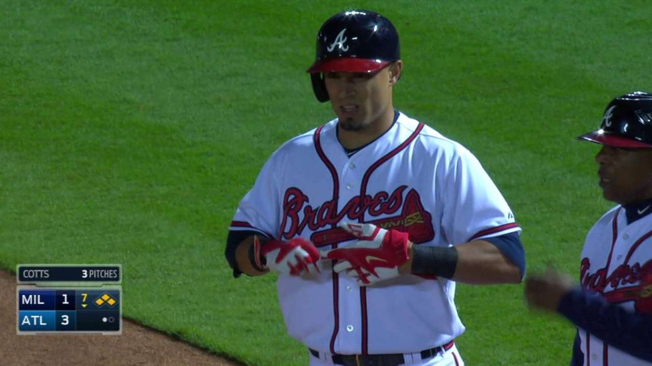 For Fredi, lineup key to Braves' success