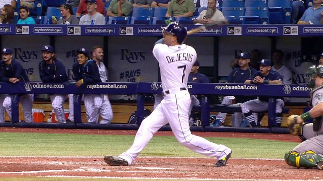 Rays alone in 1st place with shutout of A's