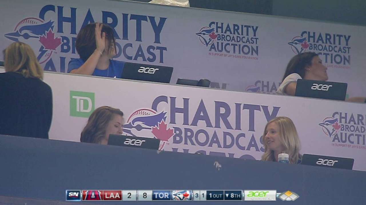 Blue Jays' charity auction a huge success