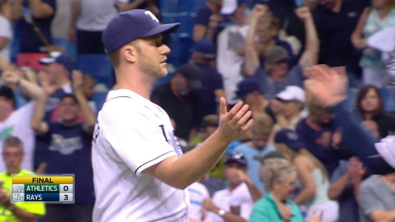 Boxberger notches the save