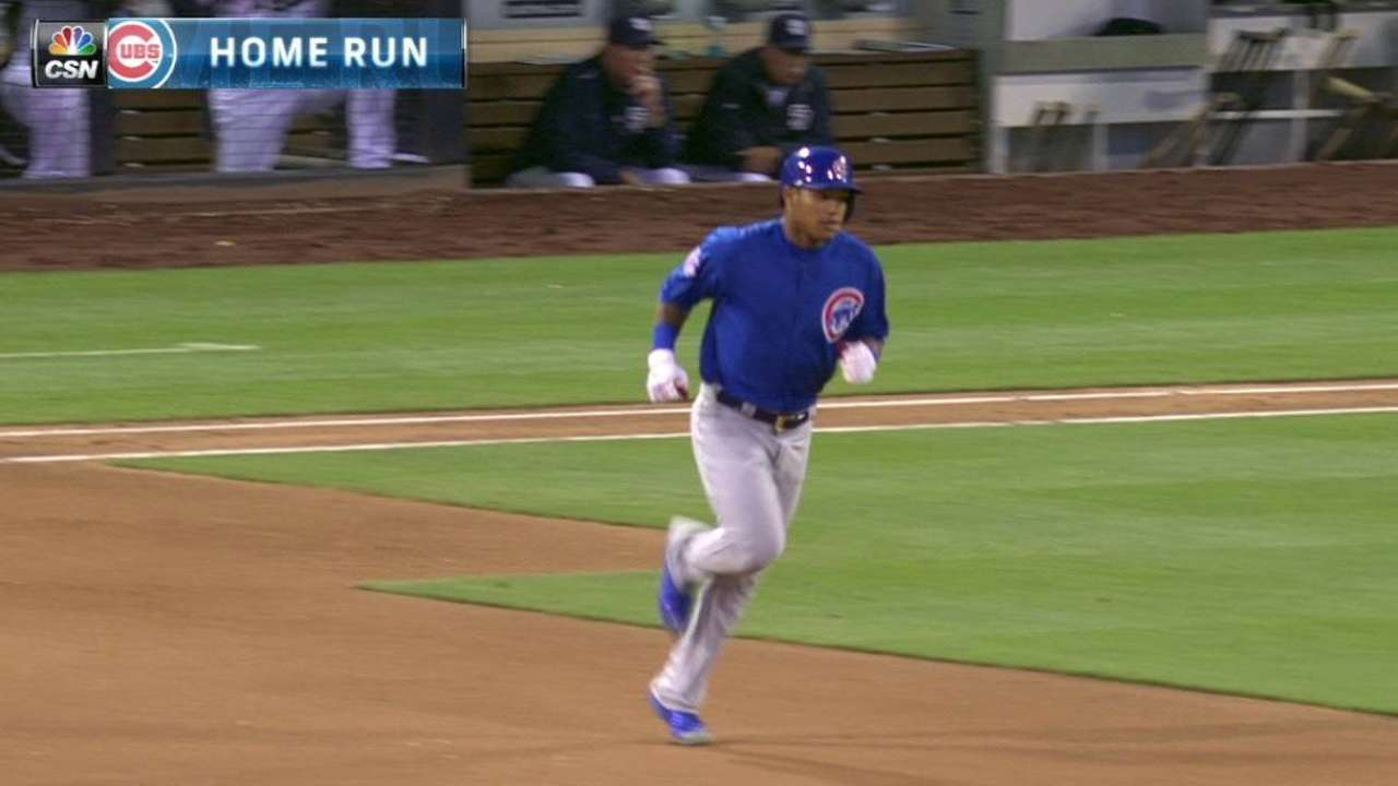 A. Russell's solo home run