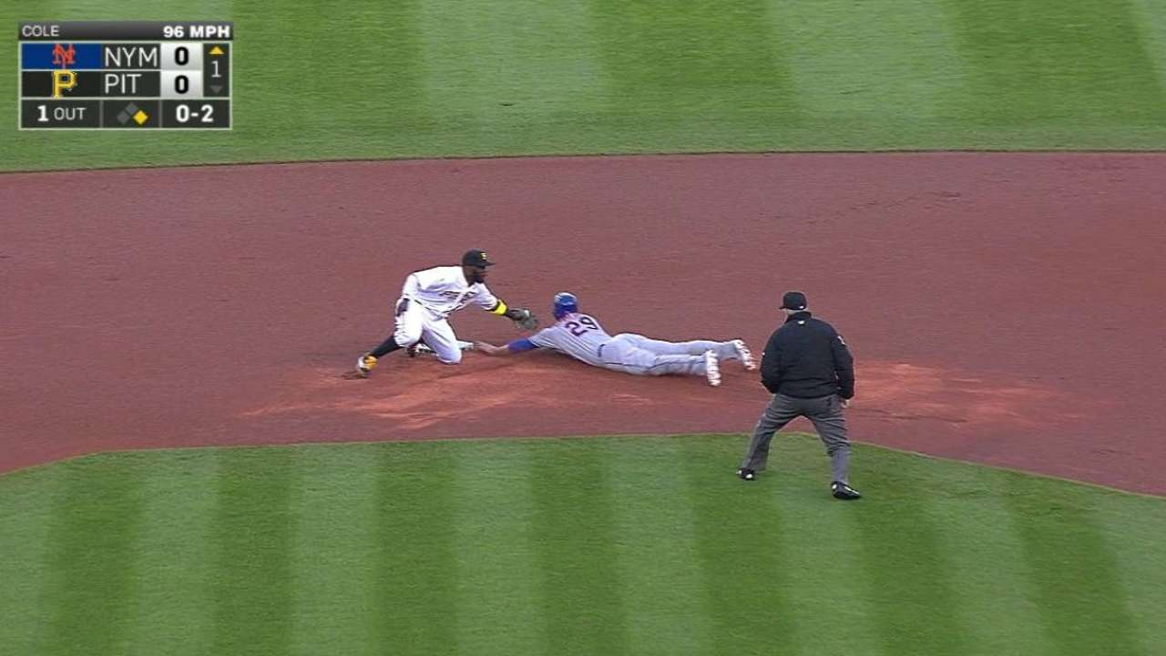 Cole nearly goes distance, fans 10 Mets