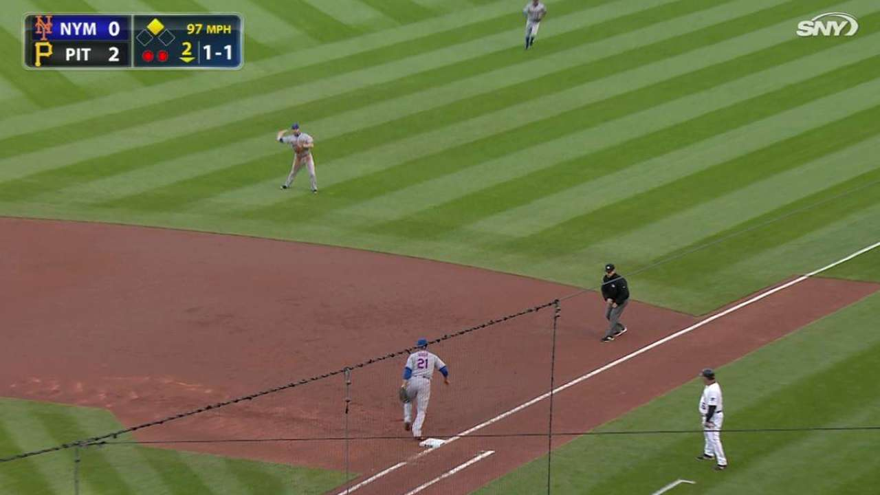 Collins shifts infield in effort to boost defense