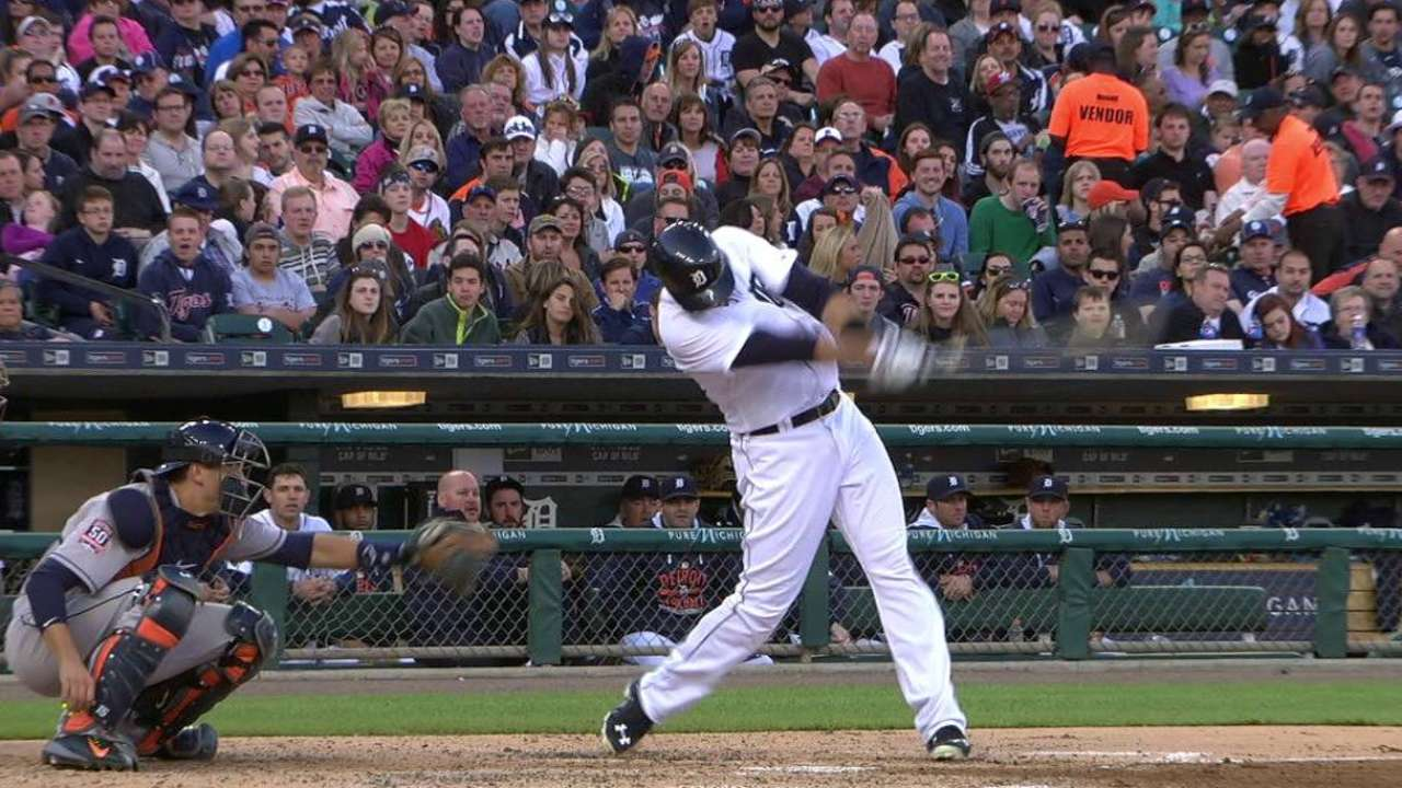 J.D. Martinez filling Tigers' cleanup void