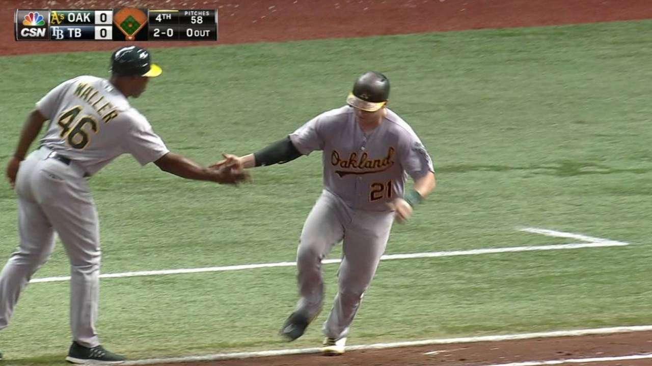 Vogt's solo home run