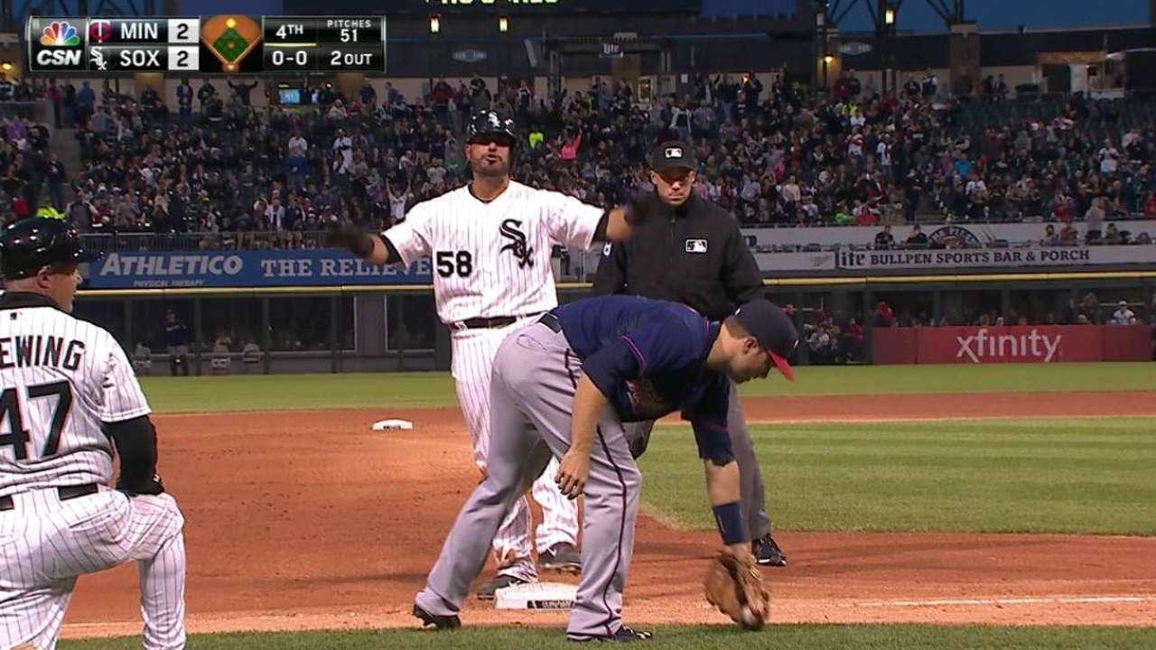 Soto's two-run double